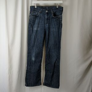 7 For All Mankind Mid Weight Boot Cut Jeans